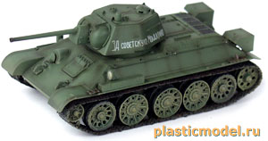 36267, 1:72, T-34/76 model 1943 Russian army (Советский танк Т-34/76 образца 1943 г.)