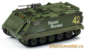 Easy Model 35005, 1:72, U.S. Army M113A1/ACAV, Vietnam 1969 (Американский армейский  БТР M113А1, Вьетнам 1969)