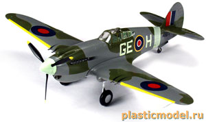 "Easy Model 37207 1:72, Curtiss P-40B/C ""Warhawk"" (Кёртисс P-40B/C «Вархавк»)"