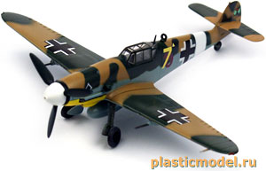 Easy Model 37252, 1:72, Messerschmitt Bf109G-2, III./JG53 1943 Tunisia (Мессершмитт BF-109G-2, III./JG53 1943 Тунис)