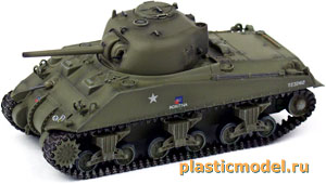 Dragon 60278, 1:72, M4A4 Sherman, Falaise Gap 1944 (M4A4 «Шерман», Фалезский котел 1944)