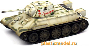 Easy Model 36269, 1:72, T-34/76 model 1943 Russian army (Советский танк Т-34/76 образца 1943 г.)