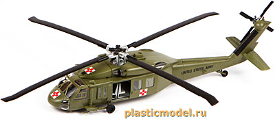 "Easy Model 37018, 1:72, American UH-60A ""Black hawk"" (Сикорский UH-60A «Блэк хоук»)"