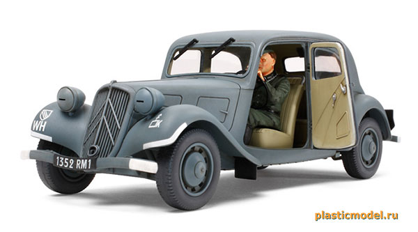Citroën Traction 11CV Staff Car (Ситроен «Трэкшн» 11CV штабной автомобиль)