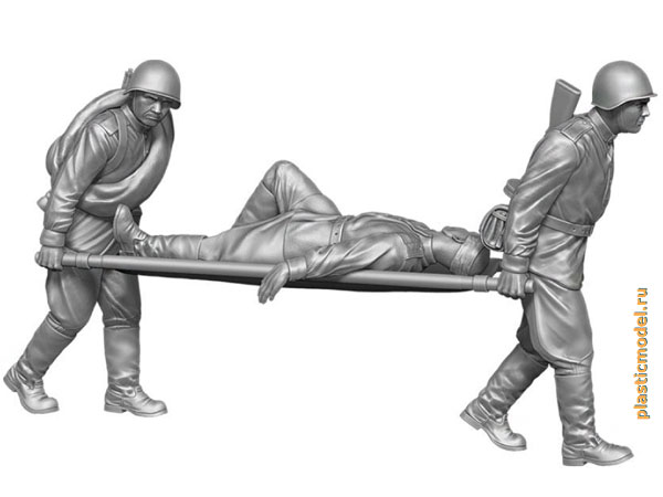 Soviet Medical Personnel, WWII (Советские санитары, 2МВ)