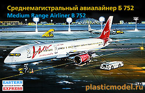 Eastern Express 14428 1:144, Medium Range Airliner Boeing 752 (Среднемагистральный авиалайнер Боинг 752)