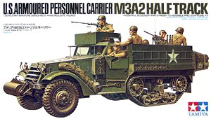 Tamiya 35070, 1:35, U.S. Armoured Personnel Carrier M3A2 Half Track