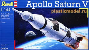 04909, 1:144, Apollo Saturn V («Сатурн-5» американская ракета-носитель)