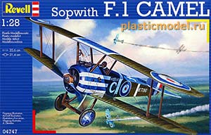 Revell 04747, 1:28, Sopwith F.1 Camel (Сопвич F.1 «Кэмел»)