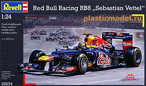 "Revell 07074, 1:24, Red Bull Racing RB8 ""Sebastian Vettel"" (RB8 команды Ред Булл Рейсинг Себастьяна Феттеля сезона 2012 года)"
