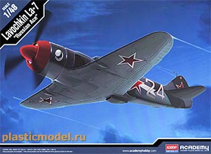 "Academy 12304, 1:48, Lavochkin La-7 ""Russian Ace"" (Лавочкин Ла-7 «Русские асы»)"
