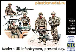 Master Box 35180 1:35, Modern UK Infantrymen, present day (Современная британская пехота, наше время)