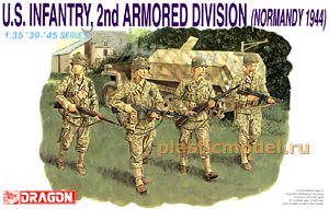 Dragon 6120, 1:35, U.S. Infantry, 2nd Armored Division (Normandy 1944)