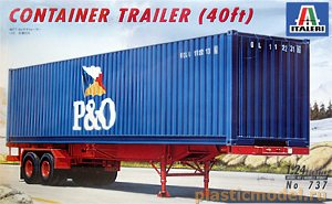 737, 1:24, Container trailer (40 ft)
