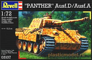 "Revell 03107, 1:72, ""Panther"" Ausf.D/Ausf.A"