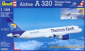 Revell 04201, 1:144, Airbus A 320 (Swiss / Thomas Cook)