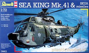 Revell 04411, 1:72, Sea King Mk. 41 and SKUA missiles
