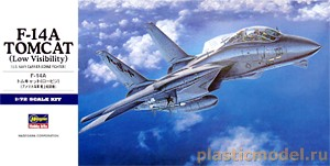 00532, 1:72, F-14A Tomcat (Low Visibility) U.S. NAVY Carrier-borne fighter