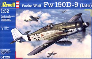 Revell 04725, 1:32, Focke Wulf Fw 190 D-9 late version
