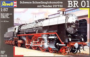 Revell 02172, 1:87 HO, BR 01 Heavy express goods locomotive with 2`2`2T32 tender