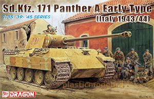 Dragon 6160, 1:35, Sd.Kfz. 171 Panther A early type (Italy 1943/44)
