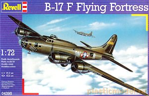 Revell 04395, 1:72, B-17 F Flying Fortress