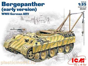ICM 35341, 1:35, Bergepanther Sd.Kfz 179 early ARV version (Бергепантера Sd.Kfz 179 ранняя версия)