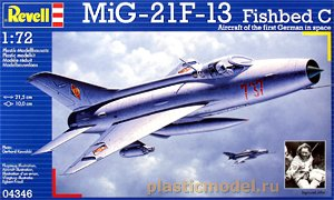 Revell 04346, 1:72, MiG-21F-13 Fishbed C