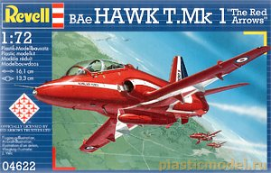 "Revell 04622, 1:72, BAe Hawk T. Mk 1 ""The Red Arrows"""