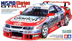 Tamiya 24161, 1:24, Nissan Nismo Clarion GT-RLM `95 Le Mans contender