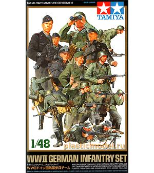 Tamiya 32512, 1:48, German early WWII infantry set