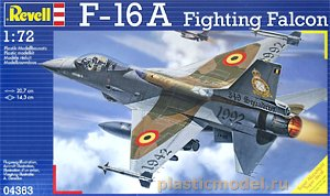 Revell 04363, 1:72, F-16A Fighting Falcon