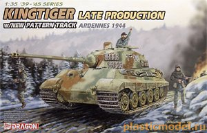 6232, 1:35, King Tiger late production (Ardennes 1944)