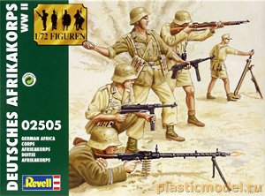 02505, 1:72, German Afrika Corps WWII