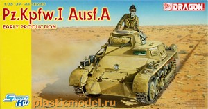 Dragon 6289, 1:35, Pz.Kpfw.I Ausf.A early production