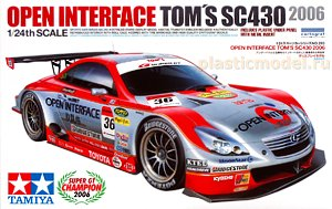 Tamiya 24293 1:24, Lexus SC430 Open Interface Toyota Team TOM'S, Super GT Champion 2006 (Лексус SC430 класса GT500 чемпионат «Супер ДжиТи» сезон 2006)