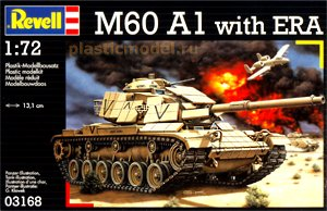 Revell 03168, 1:72, M60 A1 with ERA