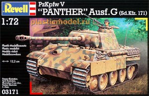 Revell 03171, 1:72, PzKpfw V PANTHER Ausf.G Sd.Kfz. 171