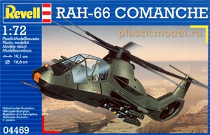 Revell 04469, 1:72, Boeing/Sikorsky RAH-66 Comanche