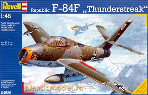 04526, 1:48, Republic F-84F `Thunderstreak`