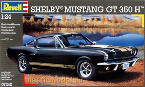 Revell 07242 1:24, Shelby Mustang GT 350 H (Шелби Мустанг GT 350 H)