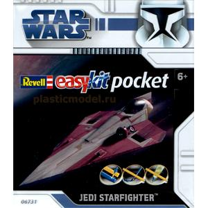 Revell 06731, ----, Jedi Starfighter - STAR WARS - easykit pocket