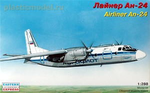 Eastern Express 28801, 1:288, Airliner An-24 (Лайнер Ан-24)