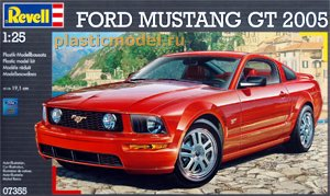 Revell 07355, 1:25, Ford Mustang GT 2005