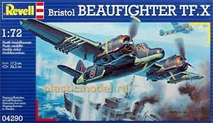 04290, 1:72, Bristol Beaufighter TF.X