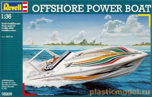 05205, 1:36, Offshore Powerboat