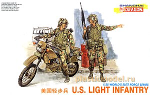 Dragon 3009, 1:35, U.S. Light infantry