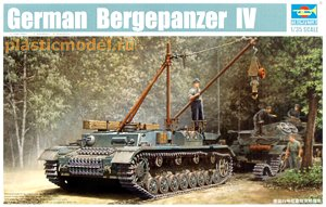 Trumpeter 00389, 1:35, German Bergepanzer IV Recovery Vehicle