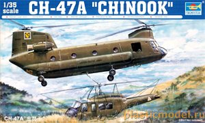 Trumpeter 05104, 1:35, CH-47A `Chinook`