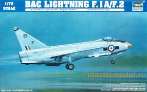 Trumpeter 01634, 1:72, English Electric (BAC) Lightning F.1A/F.2
